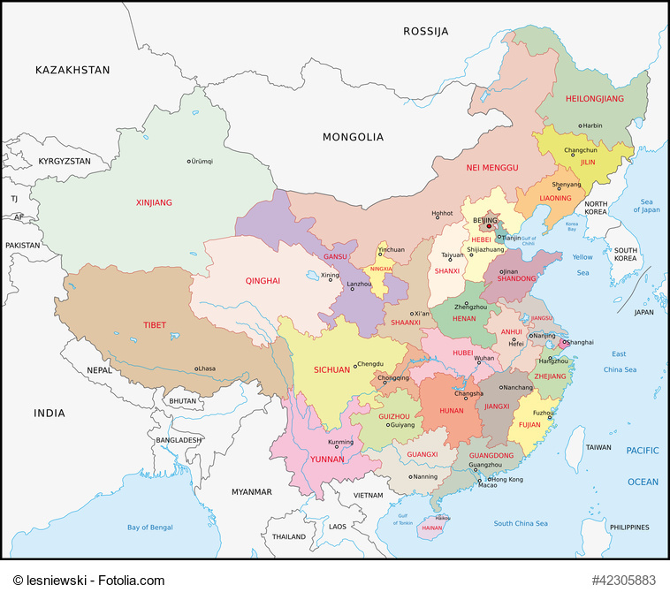 Provinces of China